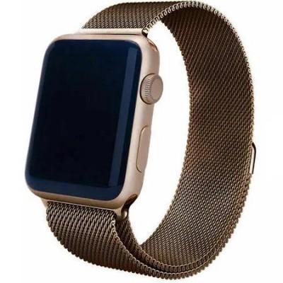 Ремінець Apple Watch Міланська петля 38/40mm. Old Gold