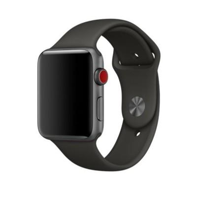 Ремінець Apple Watch силікон 38/40mm. Grey