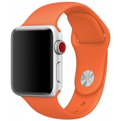 Ремінець Apple Watch силікон 38/40mm. Orange
