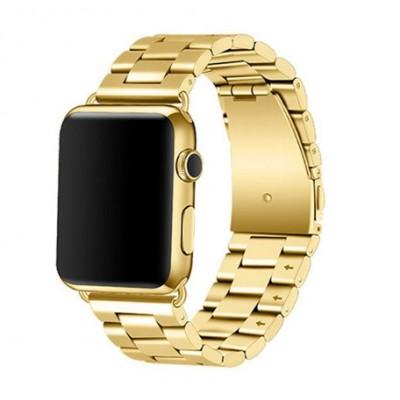 Ремінець Apple Watch Стальний 38/40mm. Gold