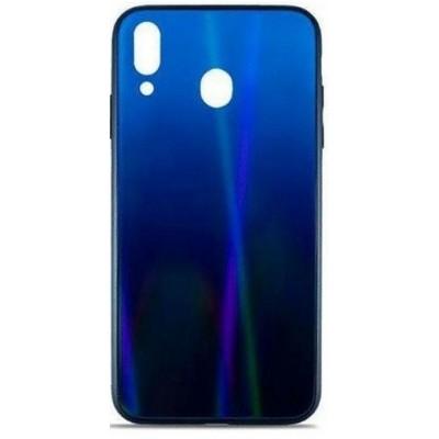 Накладка Glass Case Shine Gradient для Samsung A305 / A205 Deep Blue