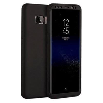 Чохол-силікон Rock Matte 360 Defense Samsung G955 (S8 Plus) Black