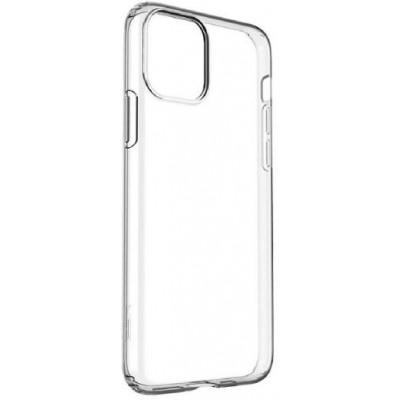 """Накладка G-Case для Apple iPhone 11 """"силікон"""" Прозорий"""