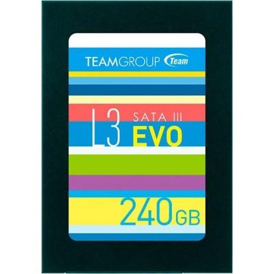 """SSD 240GB Team L3 EVO 2.5"""" SATAIII TLC (T253LE240GTC101)"""