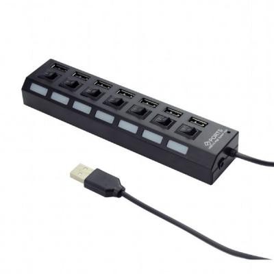 USB Hub Gembird UHB-U2P7-11 White 7хUSB2.0