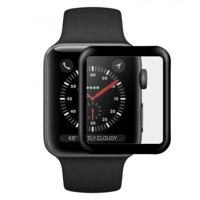 Захисне скло  Apple Watch 4 44mm 3D Black