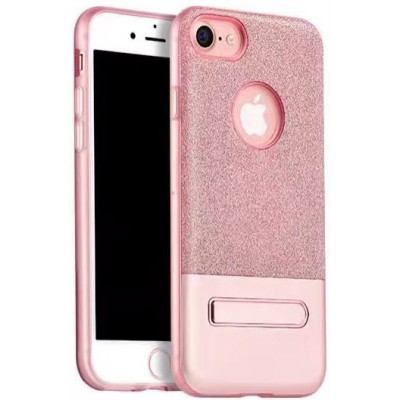 "Чехол Fshang ""Підставка"" iPhone 7 Plus Pink"