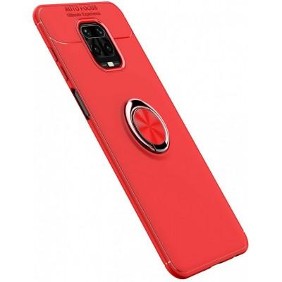 Накладка ColorRing TPU під магнітний тримач для Xiaomi Redmi Note 9sNote 9 ProNote 9 Pro Max Red