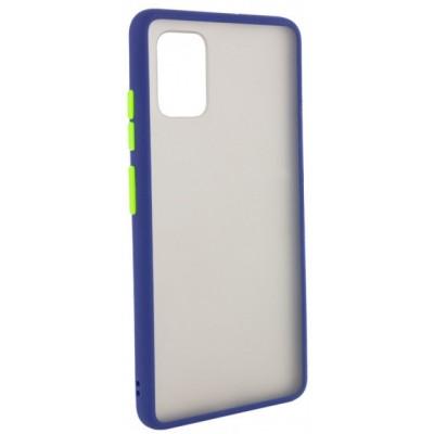 Накладка Color Buttons TPU для Samsung A515 (A51 2020) Blue-Green
