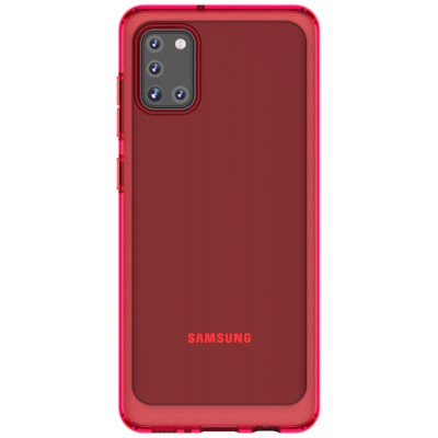 Накладка Soft Case для Samsung A315 (A31) Red