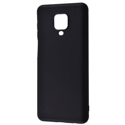 Накладка Soft Case для Xiaomi Redmi Note 9sNote 9 ProNote 9 Pro Max Black