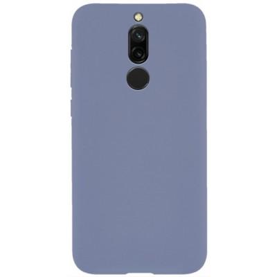 Накладка Silicone Cover для Xiaomi Redmi 8 Silky&Soft Touch Dasheen