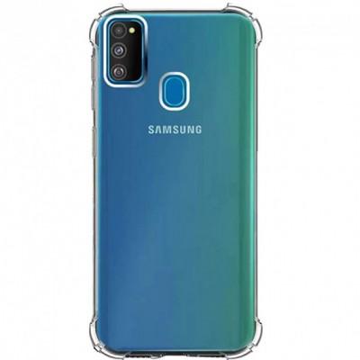Накладка GETMAN Ease з посилиними кутами TPU для Samsung M307 (M30s) M215 (M21)Прозора