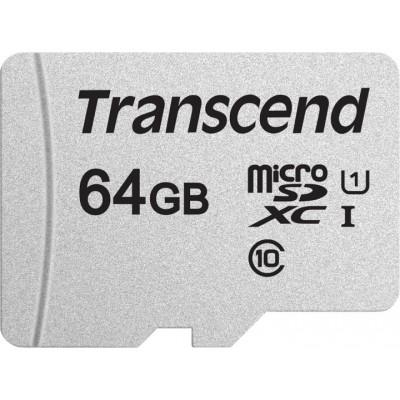 Карта памяті 64Gb Transcend 300S Class 10 UHS-I